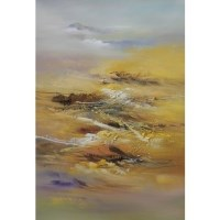 Desert Drift Oil Painting Artwork 80x120cm