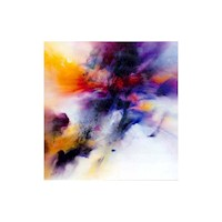 Galaxy Abstract Art Canvas Oil Painting 100 x 100cm