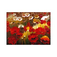 Poppies 2 Oil Painting Artwork 120x90cm