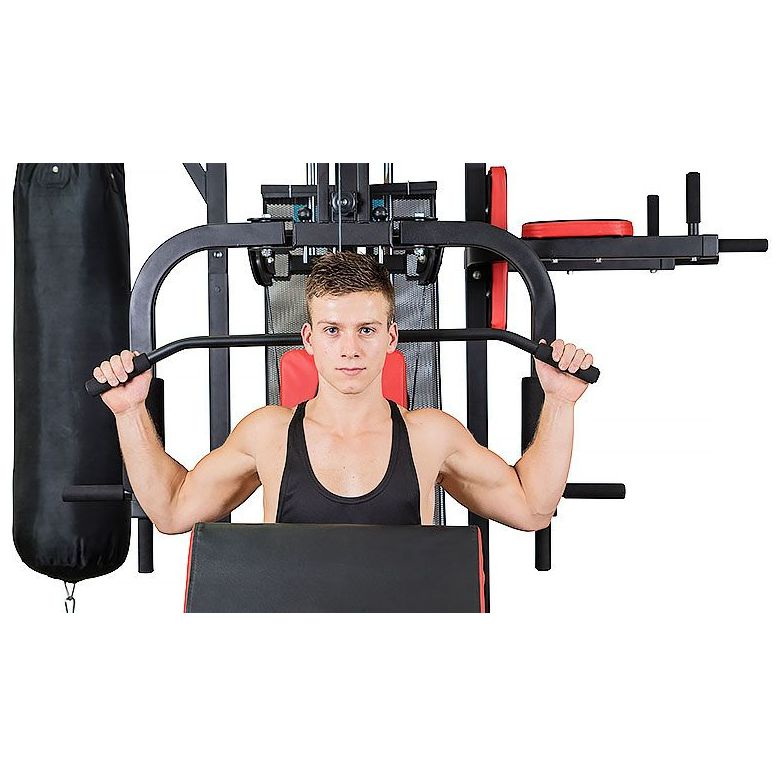 Home Gym Heavy Bag: Complete Home Gym With Punching Bag & 75kg Weights