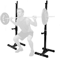 Barbell Curl  Bench Press Exercise Squat Rack Pair