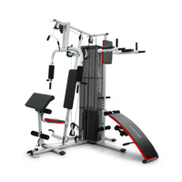 Multi-Station Exercise Home Gym with 80kg Weights