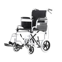 Lightweight Foldable Wheelchair with Handle Brakes