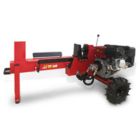 Yukon 15 Ton Petrol Hydraulic Log Splitter in Red