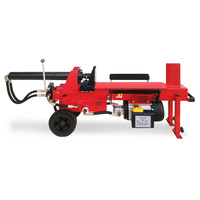 Yukon 12 Ton Electric Hydraulic Log Splitter in Red