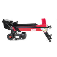 Yukon 7 Ton Electric Hydraulic Log Splitter in Red