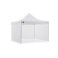 Wallaroo 3x3 Folding Marquee Pop Up Gazebo in White