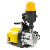 Auto Pressure Control Rain Water Pump Yellow 1200W
