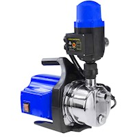Auto Pressure Control Rain Water Pump in Blue 800W