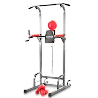 Power Tower Multi Station Chin-Up Dip w/ Speedball