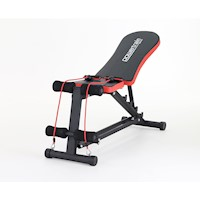 PowerTrain Home Gym Adjustable Padded Sit Up Bench
