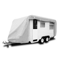 Reflective UV Treated Caravan Cover w/ Zip 10-13ft