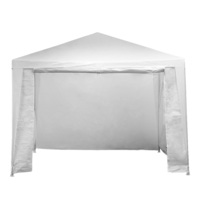Outdoor Gazebo Party Tent or Marquee in White 3x3m
