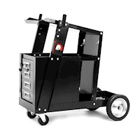 Centurion Steel Welding Trolley Cart w/ 4 Drawers