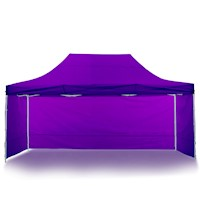 Wallaroo Popup Outdoor Gazebo in Purple 3 x 4.5M