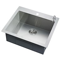 Stainless Steel Kitchen Laundry Sink 530x500mm