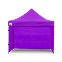 Wallaroo 3x3 Folding Marquee Pop Up Gazebo Purple
