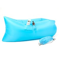 Wallaroo Inflatable Air Bed Lounge Sofa in Blue