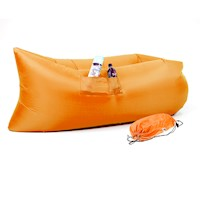 Wallaroo Inflatable Air Bed Lounge Sofa in Orange