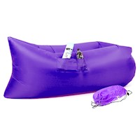 Wallaroo Inflatable Air Bed Lounge Sofa in Purple