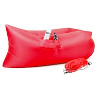 Wallaroo Inflatable Air Bed Lounge Sofa in Red