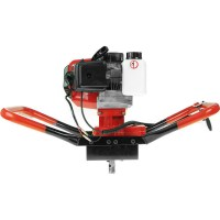 Yukon Petrol Post Hole Digger with Auger 300mm 52cc