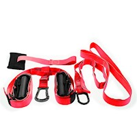 Powertrain Exercise Suspension Straps in Red 3.4m