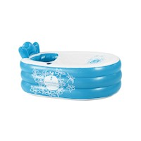 Mambobaby Portable Inflatable Bathtub in Blue