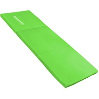Tri-Fold Exercise Yoga Mat in Green 180 x 60 x 5cm