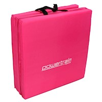 Tri-Fold Exercise Yoga Mat in Pink 180 x 60 x 5cm