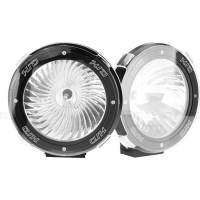 2x Rigg HID 107S Off Road Driving Lights 100W