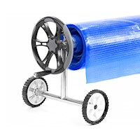 Swimming Pool Roller with Adjustable Reel 4.3-5.5m