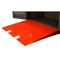 Forklift Loading Ramp in Red 8000kg 1.7x2.3m
