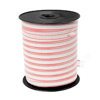 1x200m Electric Fence Stainless Steel Polywire Roll