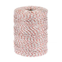 1x500m Electric Fence Stainless Steel Polywire Roll