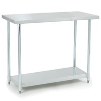 304 Stainless Steel Kitchen Bench 1219x610x890mm