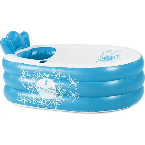 Mambobaby Portable Inflatable Bathtub in Blue | Buy Inflatable ...
