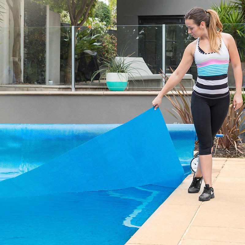 Solar Bubble Spa Swimming Pool Cover Blue 11 X 6m Buy Pool Covers