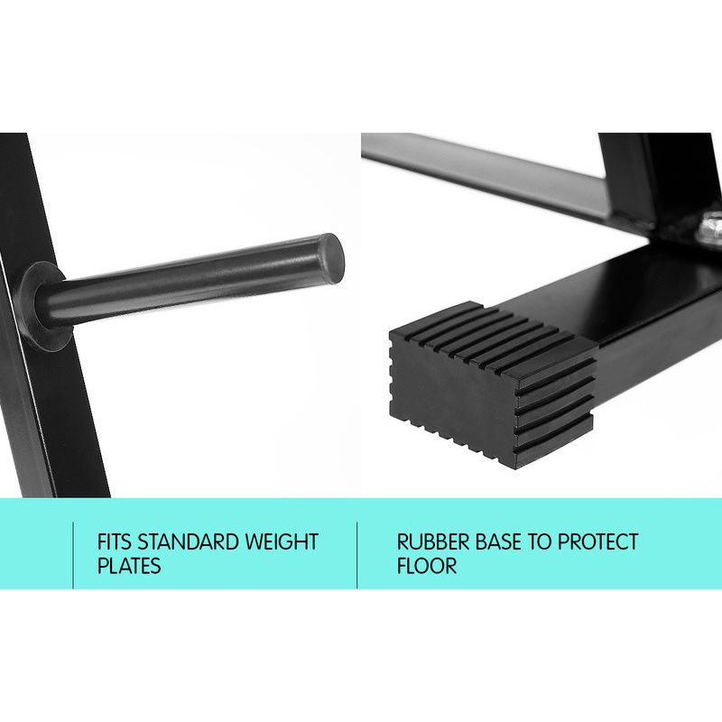 Free Weights Storage: Powertrain A-Frame Free Weights Storage Rack