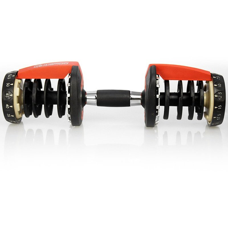 48kg Adjustable Dumbbell Weight Set W/ Stand