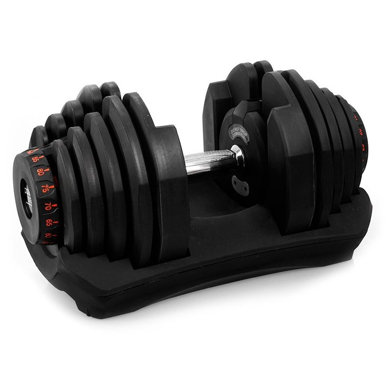 Adjustable Weights Ratings: 80kg Adjustable Dumbbell Weight Set W/ Stand