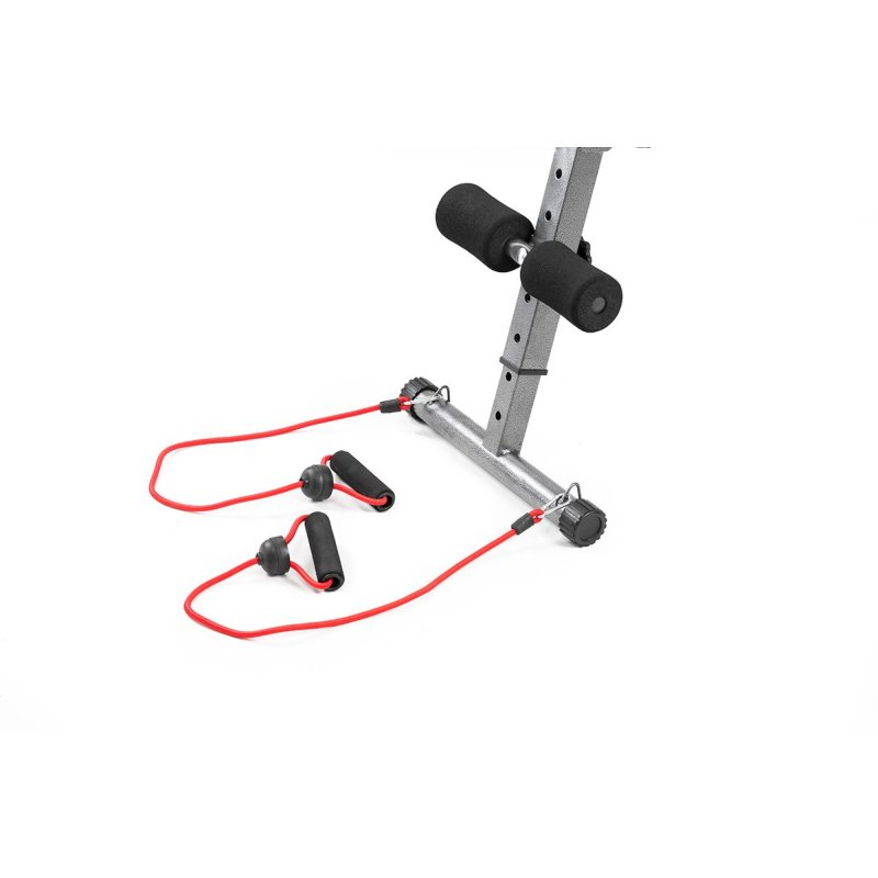 Bench Press Resistance Bands: Home Gym Incline Weight Bench W/ Resistance Bands