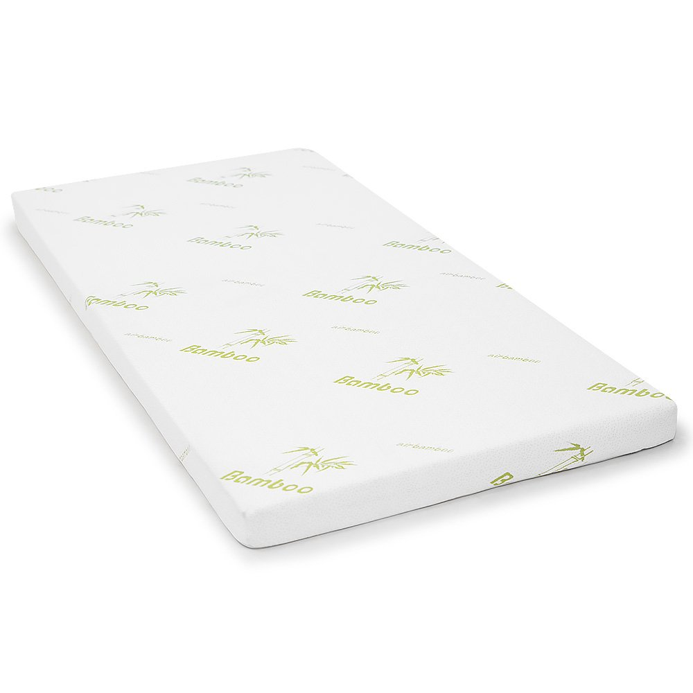 Memory Foam Mattress Topper.Cool Gel Memory Foam Mattress Topper Bamboo Fabric Cover Ecologic Double 8cm
