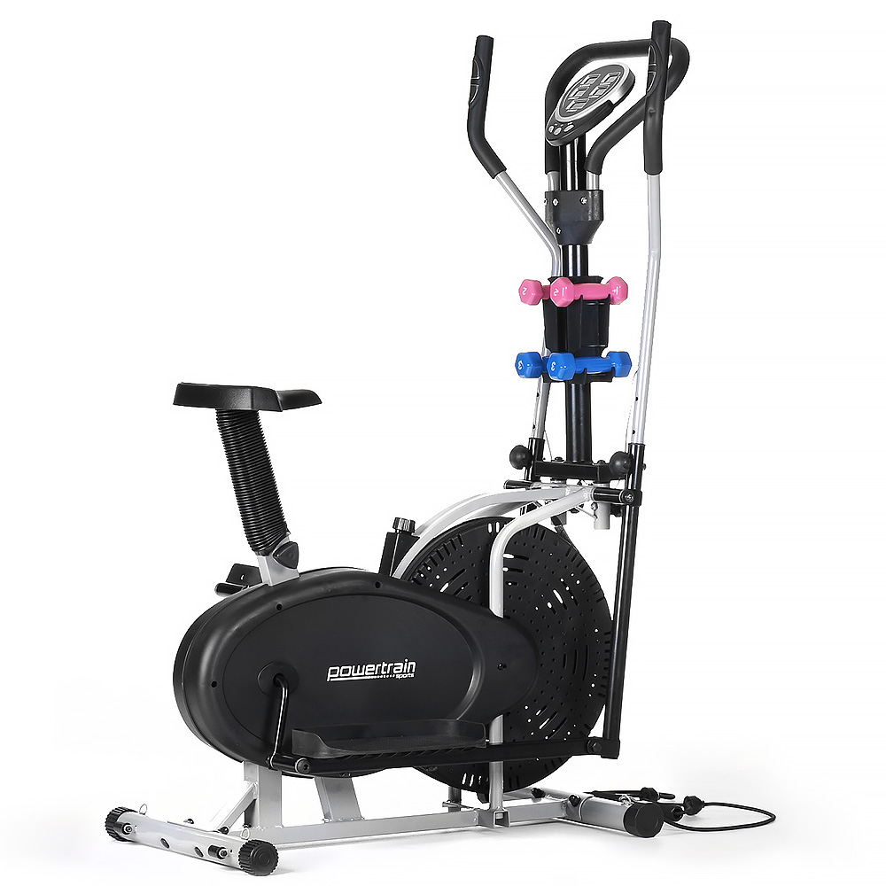 Powertrain Elliptical Cross Trainer Exercise Home Gym