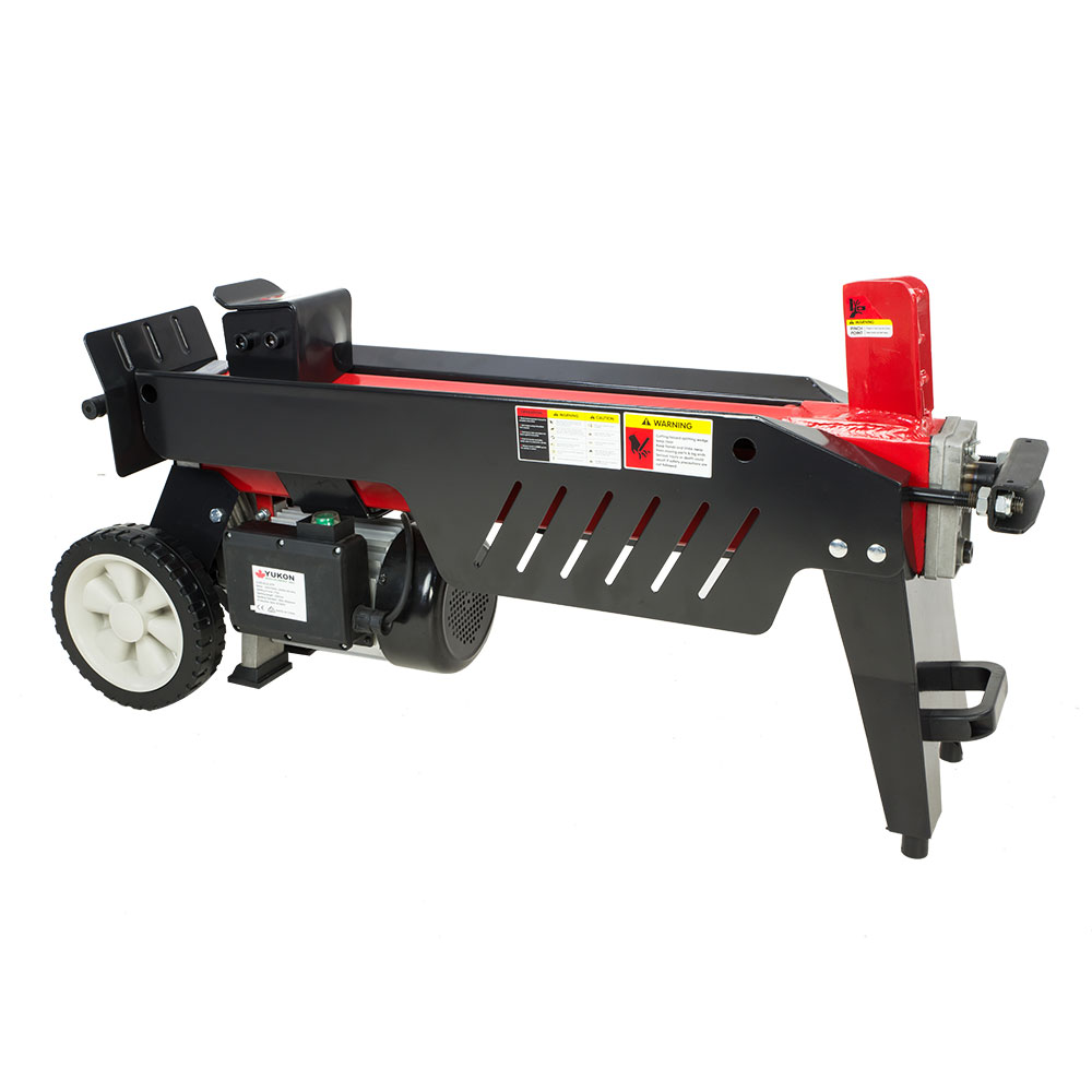 95e10bcdc826 Log Splitter Electric Yukon 7 Ton with Side Protectors Axe Wood Cutter |  Buy Log Splitters - 0787099081867