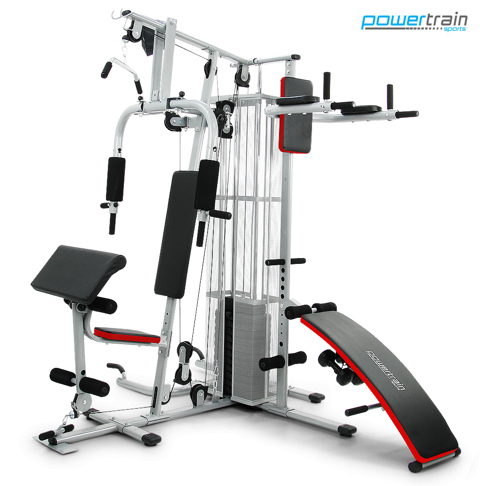 Powertrain Multistation Home Gym Exercise Equipment ...