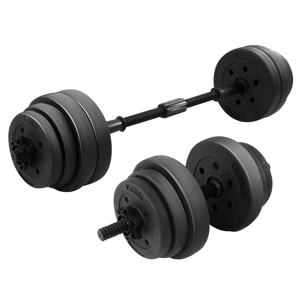Powertrain 20kg Home Gym Dumbbell Set Exercise Weights Equipment