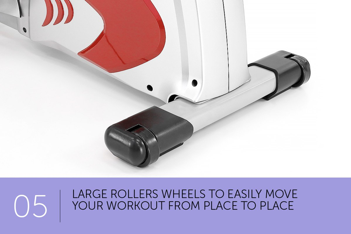 New Magnetic Flywheel Rowing Machine Home Gym Exercise ...