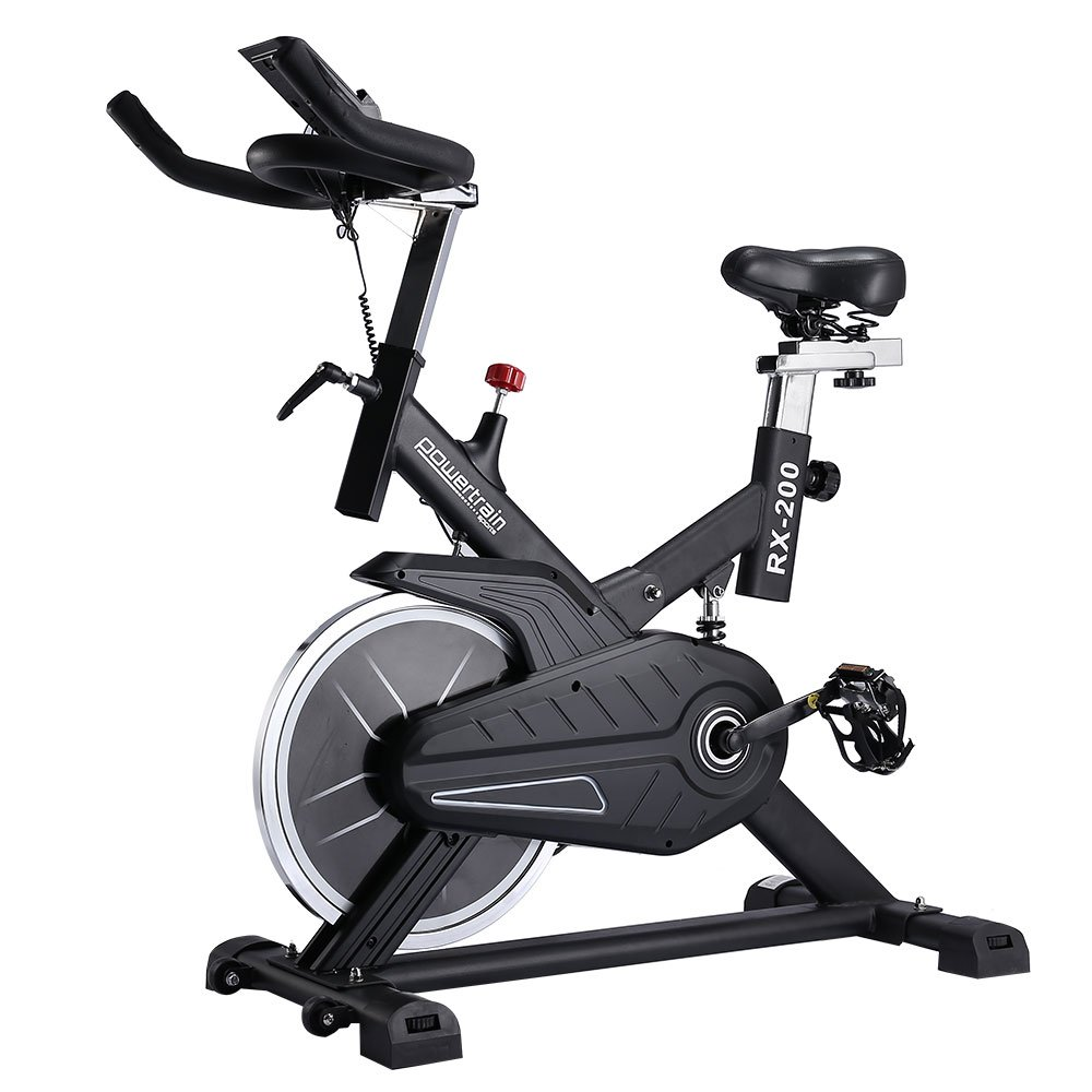 Spin bike flywheel rx 200 exercise machine home gym fitness