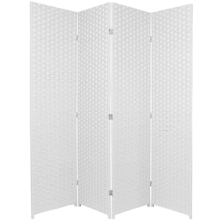 Wooden White Room Divider 4 Fold Screen 200cm Tall | Buy Room Dividers &  Screens - Wooden White Room Divider 4 Fold Screen 200cm Tall Buy Room